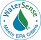 WaterSense - Meets EPA Criteria
