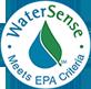 WaterSense - Meets EPA Criteria